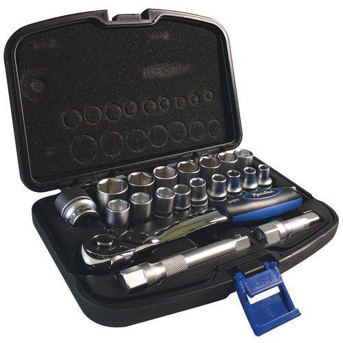 Caixa de 20 chaves de caixa de 1/2 - Manutan
