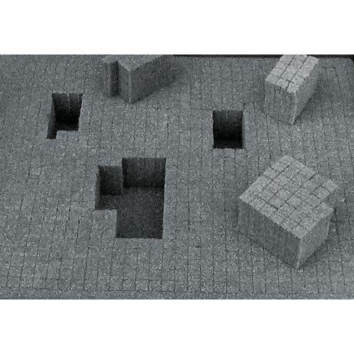 Kit de espuma para caixa multifunções