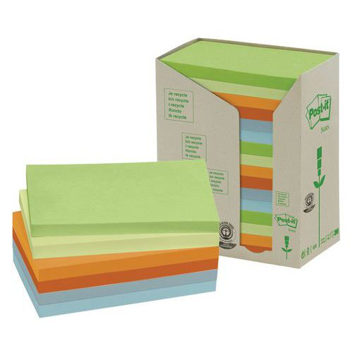 Bloco de notas reciclada Post-it