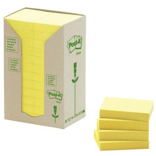 Bloco de notas reciclada Post-it