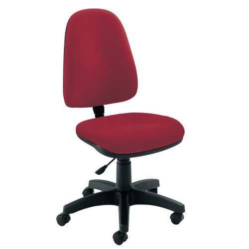 Cadeira de escritório Key - Contato permamente - Espaldar alto
