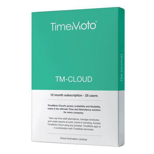 Aplicação e solução TimeMoto Cloud