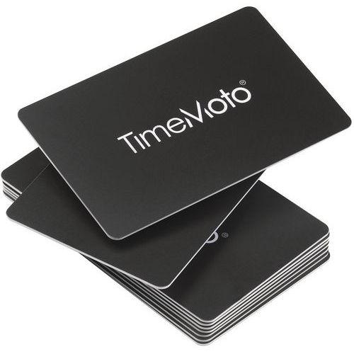 Conjunto de 25 cartões RFID para relógio de ponto TimeMoto