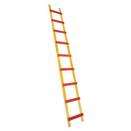 Escada de teto em madeira – 9 a 15 degraus – afastamento de 33cm