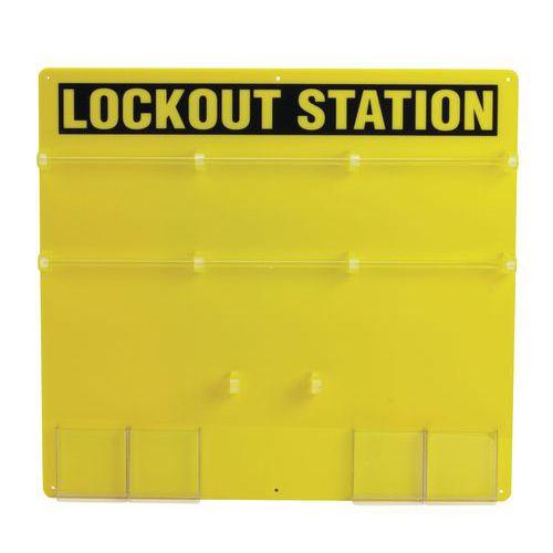 Estação para cadeado de segurança