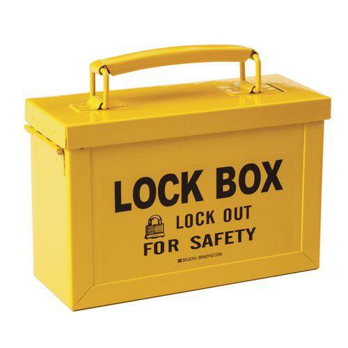 Caixa de bloqueio de grupo para cadeado – modelo pequeno