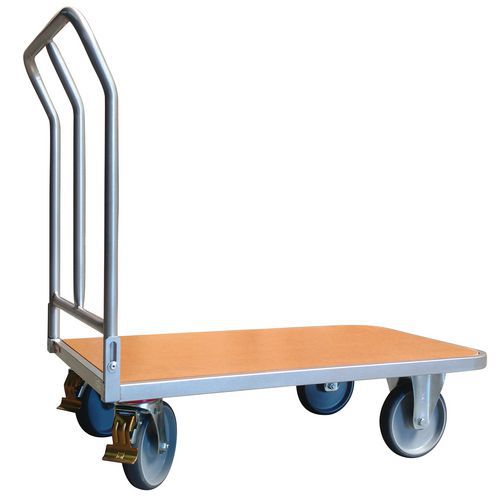 Carro ergonómico com espaldar dobrável – Capacidade: 400kg