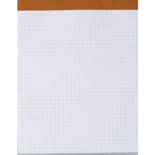 Bloco de escritório agrafado sem capa – 200 páginas – 56g – Quadriculado