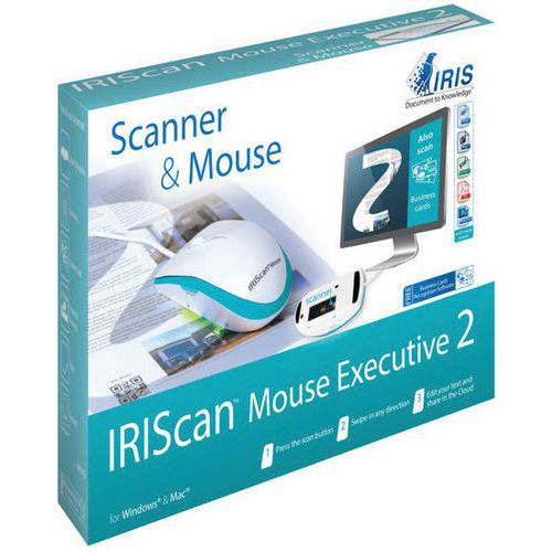 Scanner de documentos em forma de rato - IRIScan Mouse Executive 2