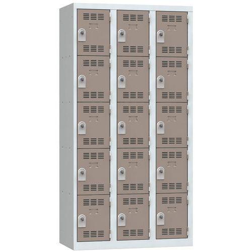 Cacifo multicompartimentos – 3 colunas – 5 compartimentos – 300mm de largura