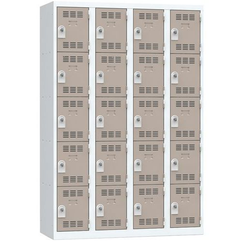 Cacifo multicompartimentos – 4 colunas – 5 compartimentos – 300mm de largura