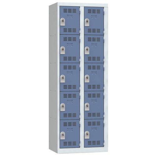 Cacifo multicompartimentos – 2 colunas – 5 compartimentos – 300mm de largura