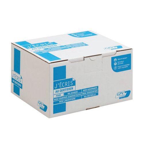 Envelope branco de 90g – caixa de 500