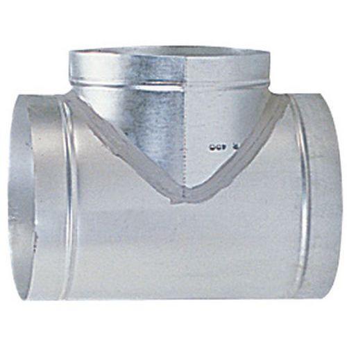 Derivação a 90° para mangas de ventilações rígidas - Ø 160 a 315 mm