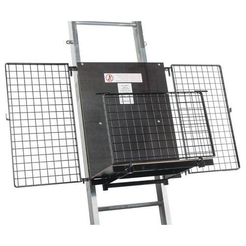 Plataforma universal para elevador de materiais Maxial