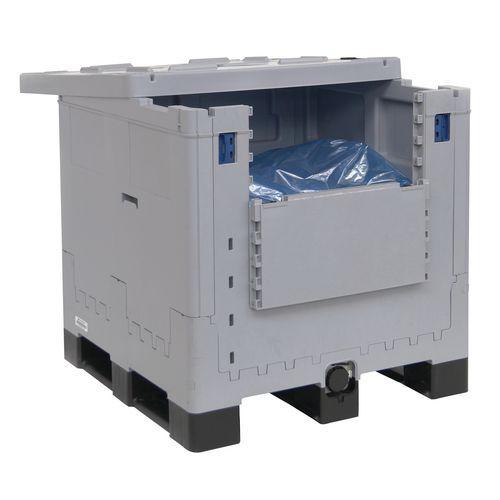 Cuba de 260 a 1060L Combo dobrável de plástico com 3 suportes