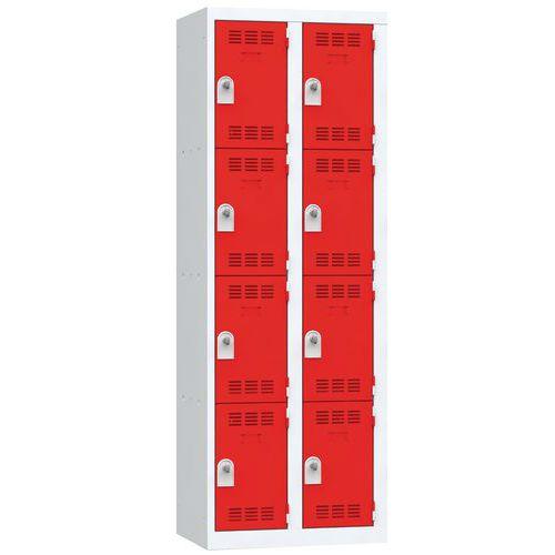 Cacifo multicompartimentos – 2 colunas – 4 compartimentos – 300mm de largura