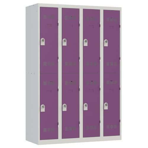 Cacifo multicompartimentos – 4 colunas – 2 compartimentos – 300mm de largura