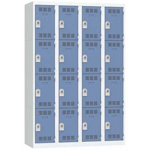 Cacifo multicompartimentos – 4 colunas – 4 compartimentos – 300mm de largura
