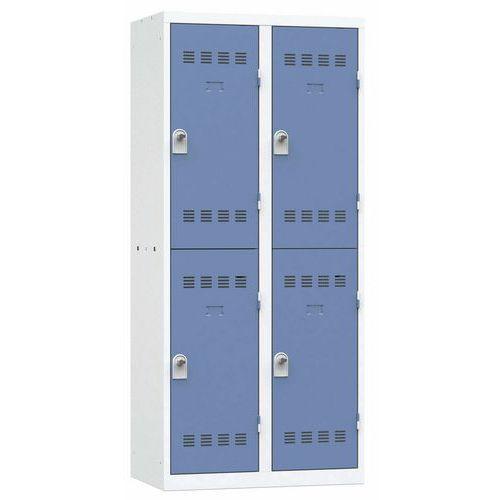 Cacifo multicompartimentos – 2 colunas – 2 compartimentos – 400mm de largura