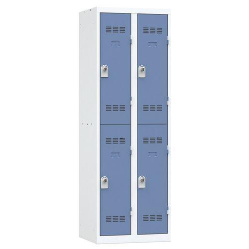 Cacifo multicompartimentos – 2 colunas – 2 compartimentos – 300mm de largura