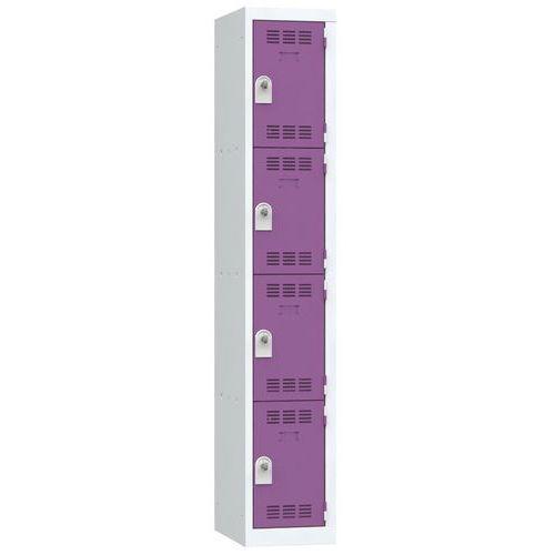 Cacifo multicompartimentos – 1 coluna – 4 compartimentos – 300mm de largura