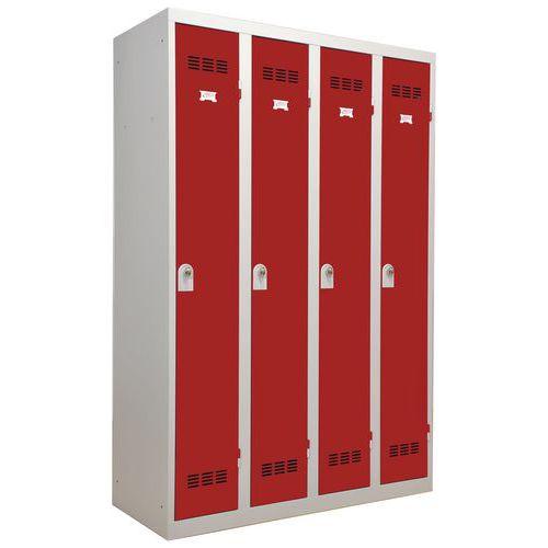Cacifos para indústria limpa – 300mm de comprimento – 4 colunas – Vinco