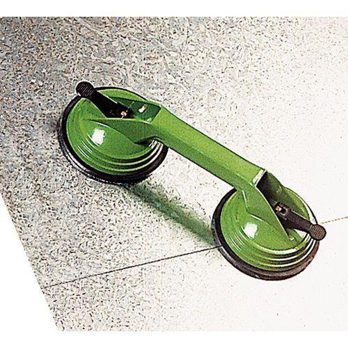 Ventosa dupla metal - Capacidade 80 kg
