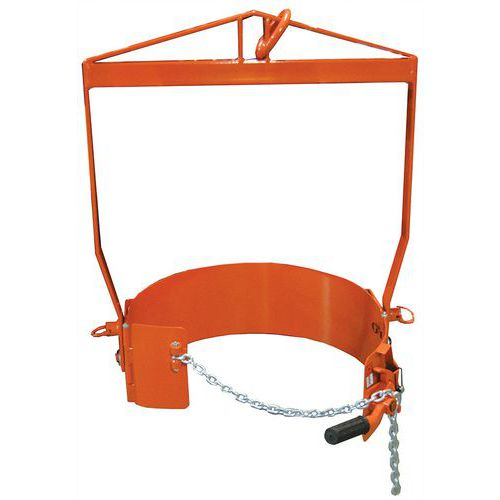 Empilhador de bidões com alavanca de 360kg