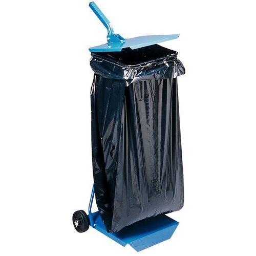 Suporte para saco de lixo - Fechado - 110 l