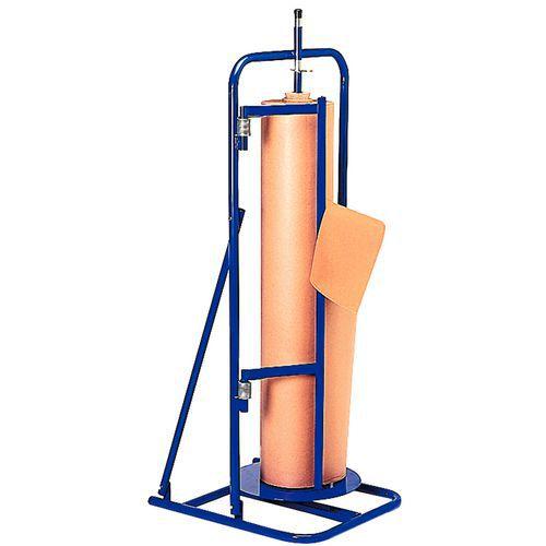 Desenrolador-cortador vertical fixo - Rolo Ø 400 máx.