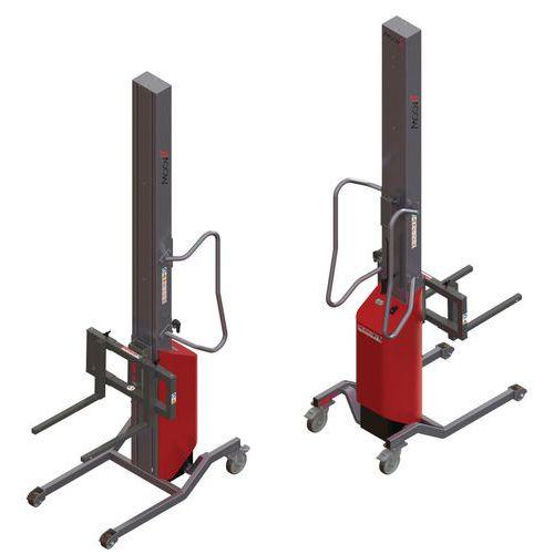 Empilhador Moovit com garfos corrediços – capacidade de 150kg