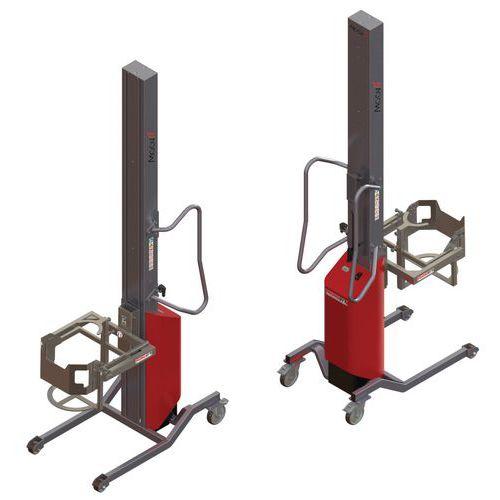 Empilhador Moovit com virador de bidões – capacidade de 150kg