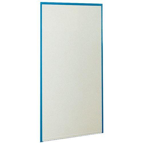 Cubículo simples parede em melamina - Painel integral - Altura 1,70 m