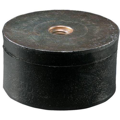 Suporte antivibrações universal com 2 hastes interiores - Tamanho roscagem M10