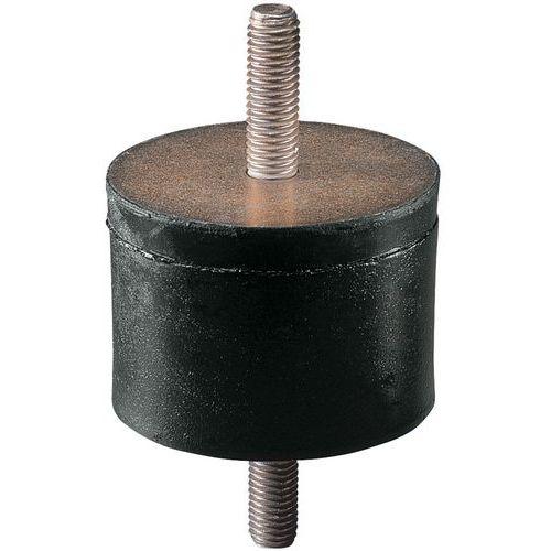 Suporte antivibrações universal com 2 hastes roscadas - Tamanho roscagem M4
