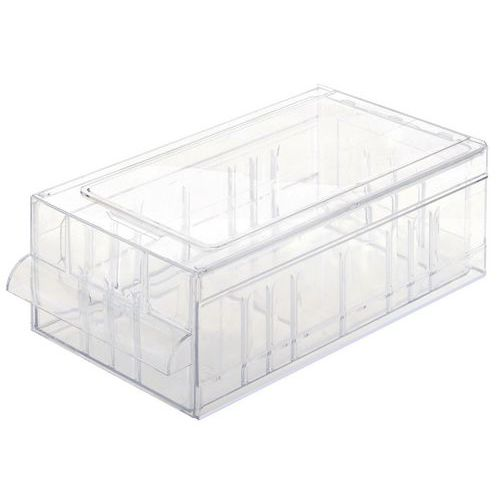 Bloco de gavetas em poliestireno cristal - Vendido em lotes