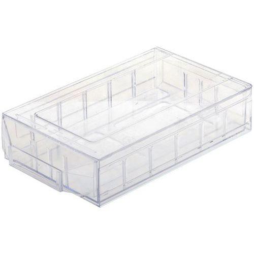 Bloco-gaveta em poliestireno cristal