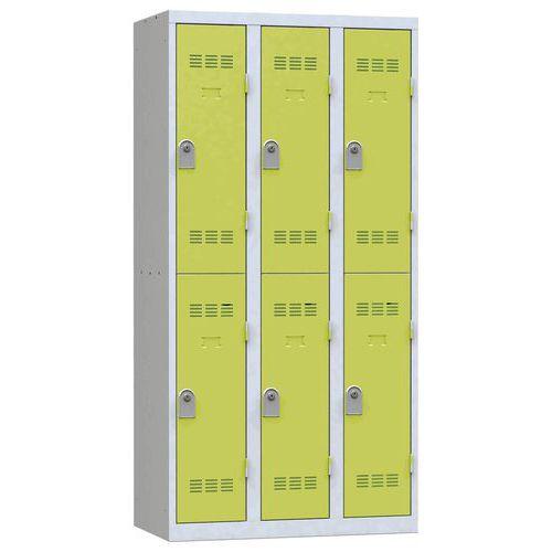Cacifo multicompartimentos – 3 colunas – 2 compartimentos – 300mm de largura