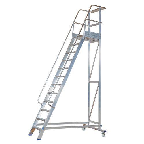 Plataforma com patamar não dobrável – capacidade de 150kg