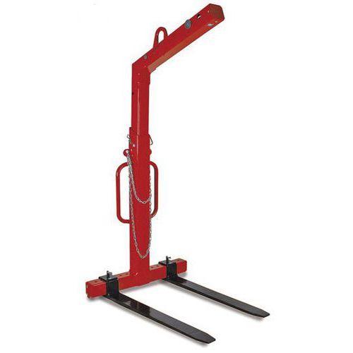 Elevador de paletes de equilíbrio automático com garfos reguláveis – capacidade de carga de 2000 a 3000kg