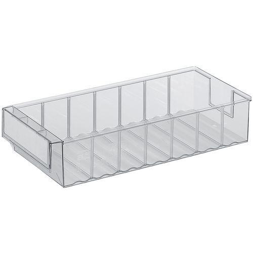 Caixa-gaveta de arrumação – 400mm de comprimento – 2,1 a 10,1L