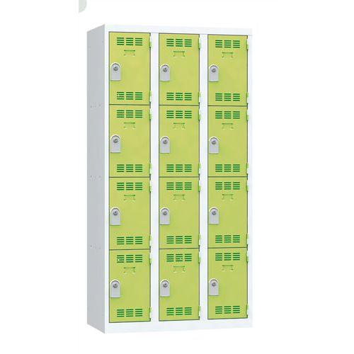 Cacifo multicompartimentos – 3 colunas – 4 compartimentos – 300mm de largura