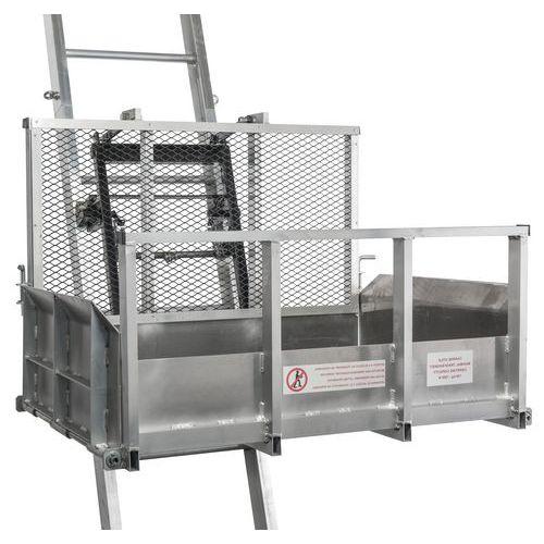 Plataforma de carrinho de mão para elevadores de materiais Haemmerlin