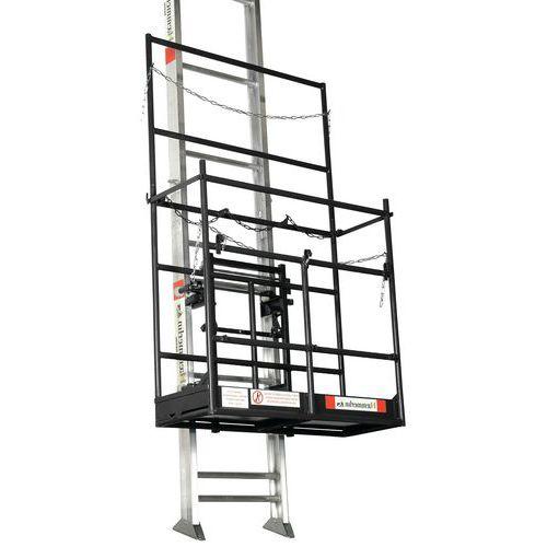 Plataforma de andaimes para elevadores de materiais Haemmerlin