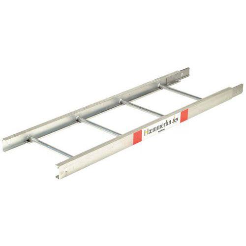Escada de extensão 2m – 2 parafusos de encaixe rápido para elevadores de materiais Haemmerlin
