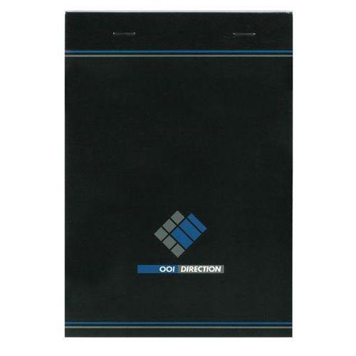 Bloco de escritório agrafado 001 Direction A5 – 200 páginas – 70g – Quadriculado