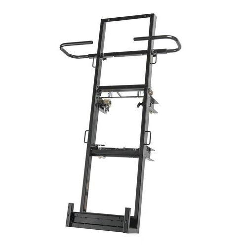 Armação com placa vertical para monta-cargas Castor Steel