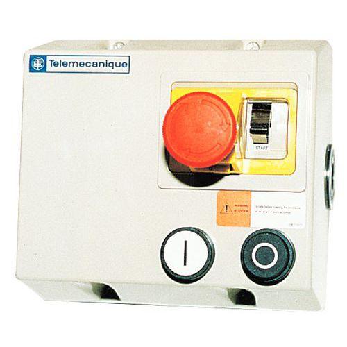 Caixa elétrica ligar/desligar para transportadores