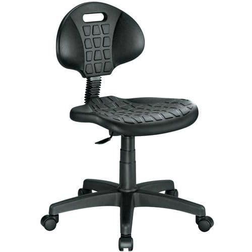 Cadeira de oficina ergonómica – Baixa – Manutan
